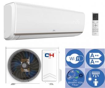 Инверторный кондиционер с тепловым насосом C&H CH-S18FTXN-E2wf
